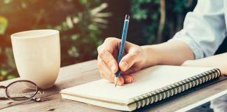 Journal based coaching